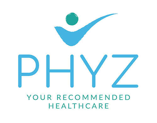 Phyz logo Blue-green